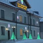В Ляховичах подведены итоги районного конкурса на лучшее новогоднее оформление