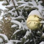 Праздничный дизайн. Стало хорошей традицией украшать Ляховичи до новогодних праздников
