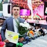 В финале Национального конкурса молодых исполнителей белорусской эстрадной песни ляховичанин заняли третье место