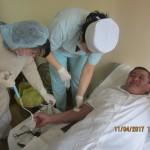 450 миллилитров на пользу жизни. В Ляховичском районе в очередной раз прошла акция по безвозмездной сдаче крови