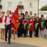 Равнение на флаг! 13 сентября пионеры Ляхавіччыны праздновали юбилей