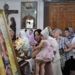 С молитвой о здоровье. В Ляховичах верующие поклонились мощам Святителя Луки