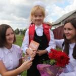 В Ляховичском районе 30 августа школа позвала ребят на торжественные линейки