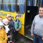 Школьный рейс. 26 октября – День автомобилиста и дорожника. Отмечают его и водители Ляхавіччыны