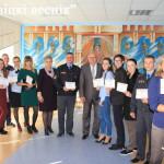 Ляховичанам вручили сертификаты на получение арендных квартир /фото/